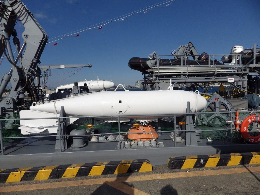 オロペサ型係維掃海具の掃海浮標