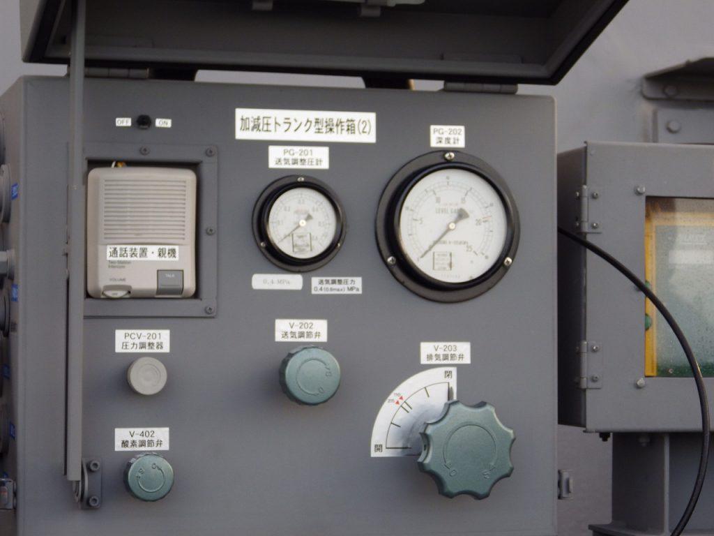 加減圧トランク型操作箱