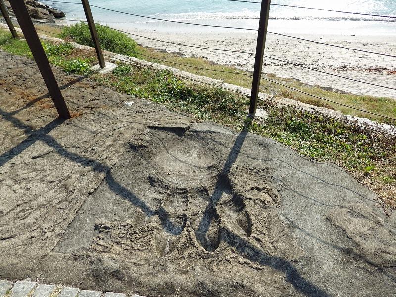ゴジラ初出現のたたら浜