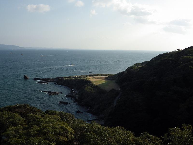 灯台からの眺め