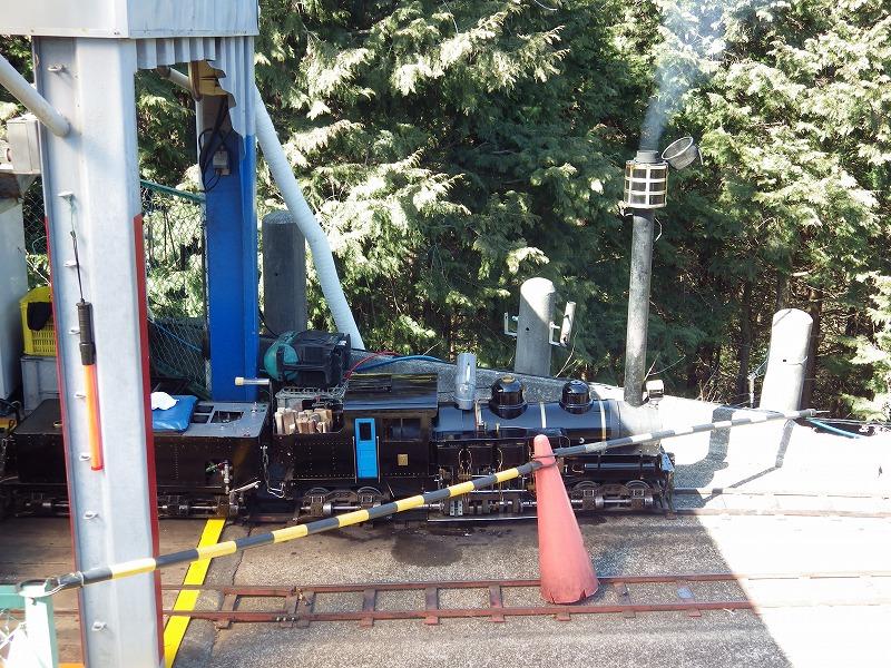 シェイ式蒸気機関車