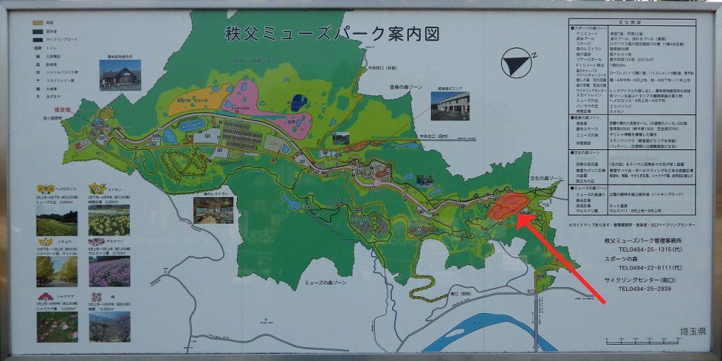 ミューズパーク地図