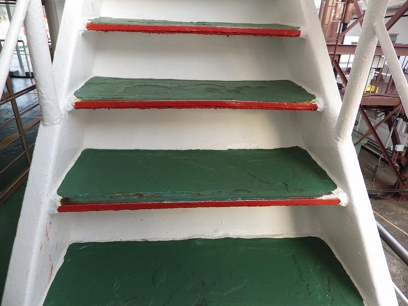 趣のある階段です。
