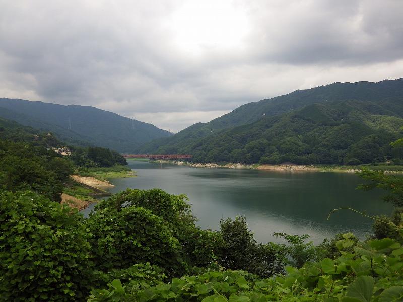 草木湖の眺め