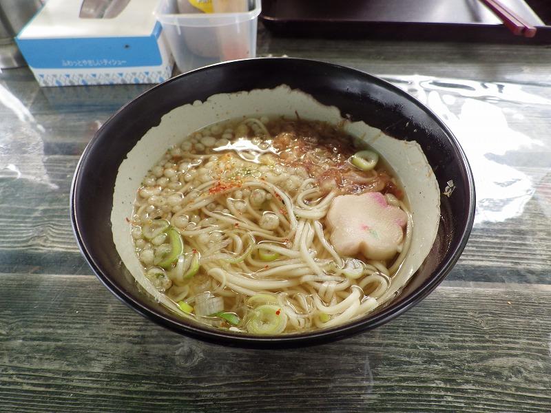 せき麺のうどん