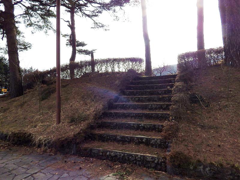 松葉の階段