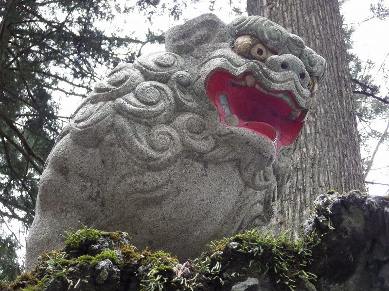 富士浅間神社狛犬