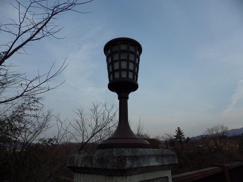 旧秩父橋の灯り