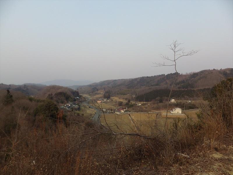 山頂からの景観1