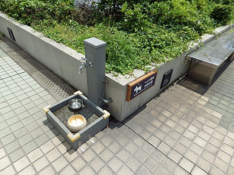 ペット用水飲み場
