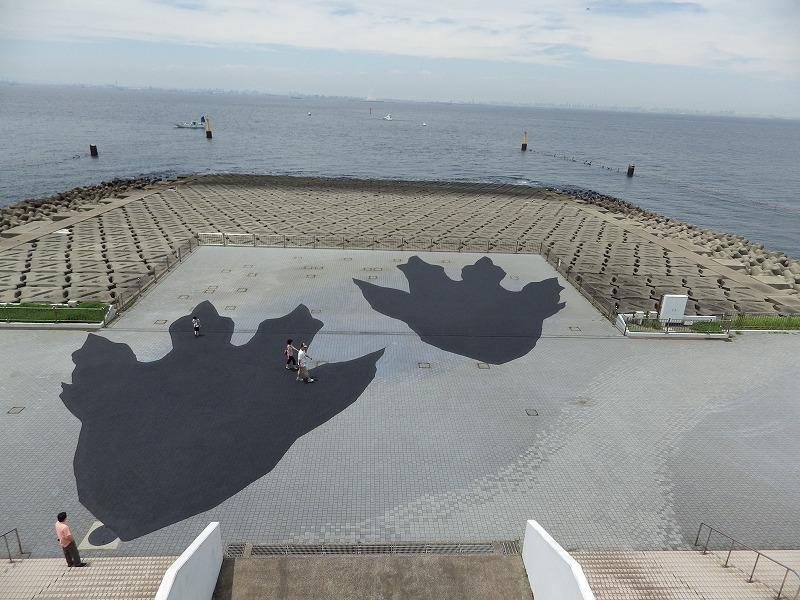 ゴジラの足跡