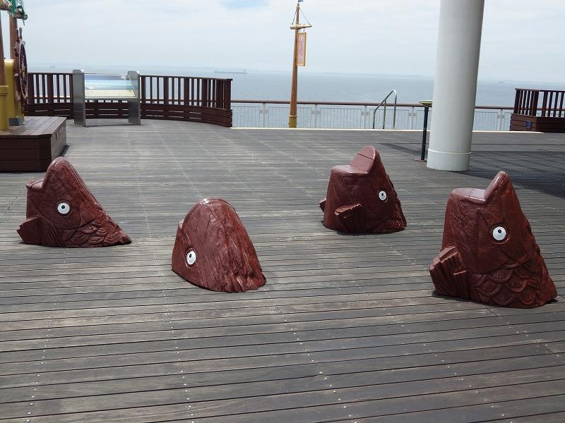 海ほたるベンチ