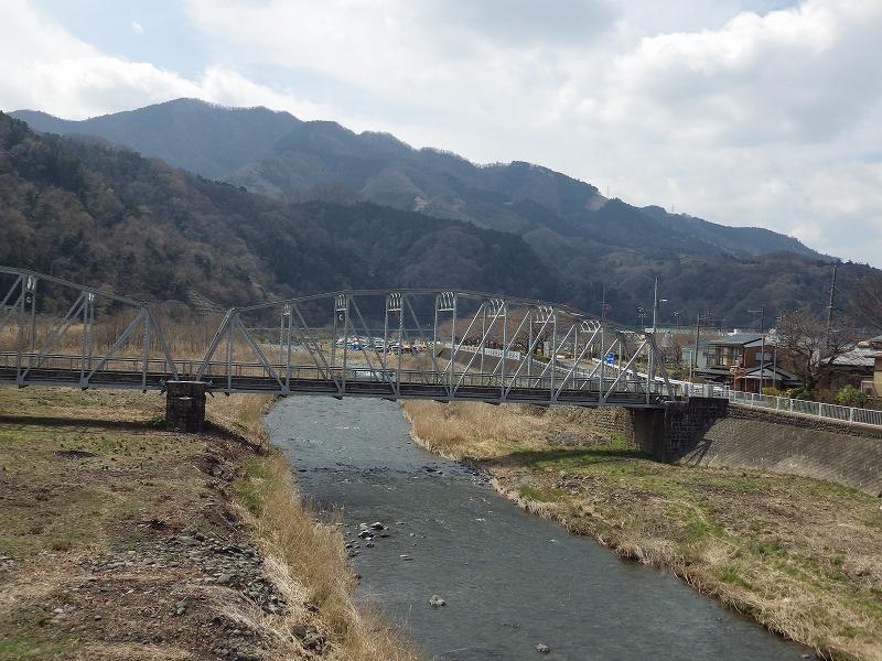 中津川の流れ