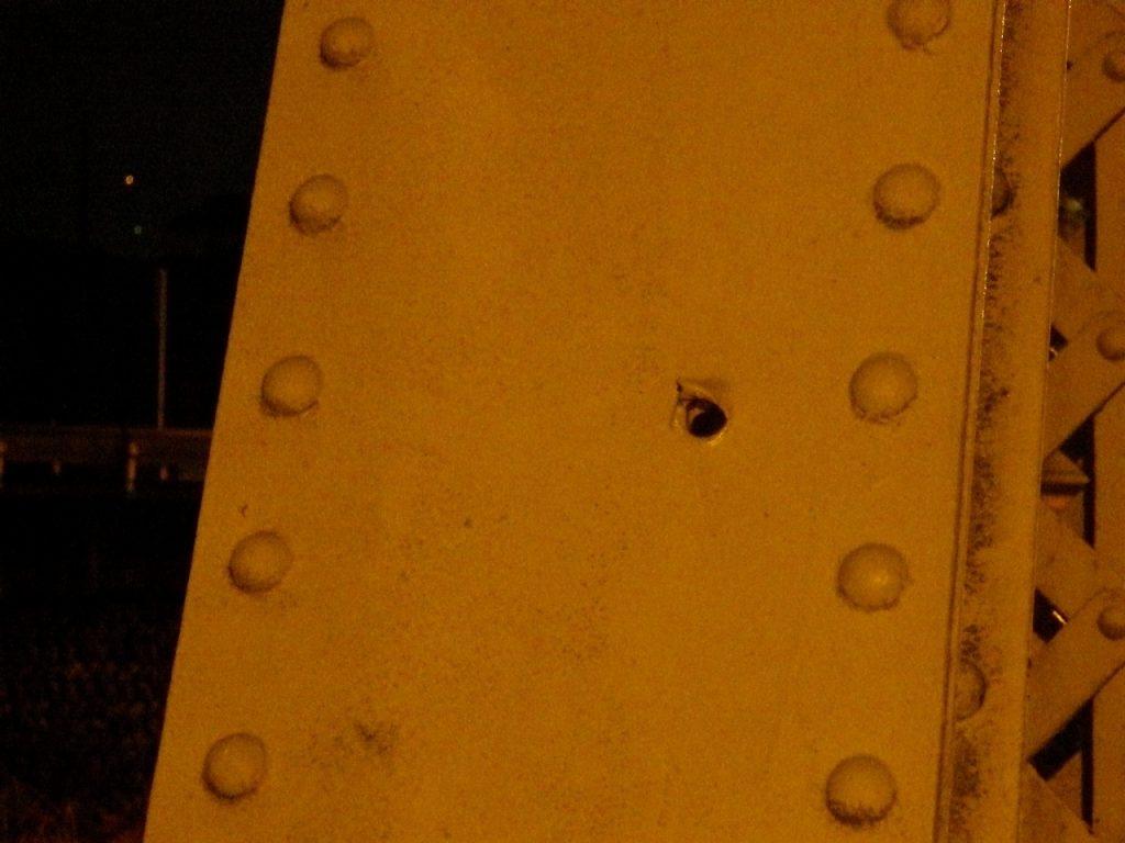 平山橋銃痕