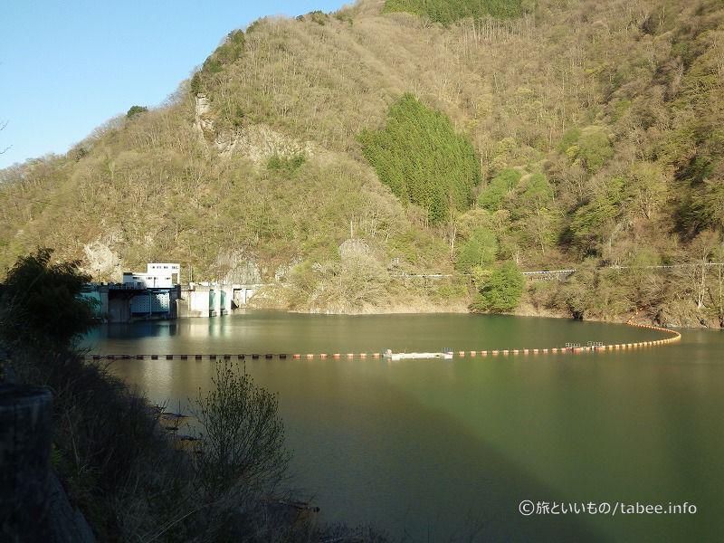 秩父湖側二瀬ダム