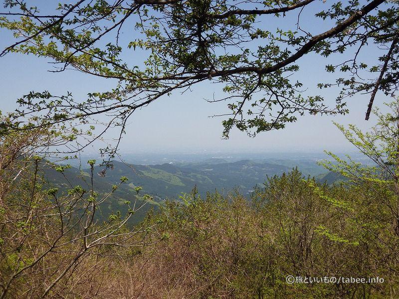 刈場坂峠からの眺め