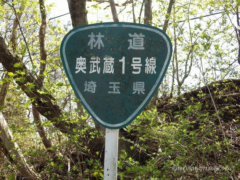 林道奥武蔵1号線