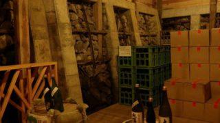 稲核風穴を利用した保存庫