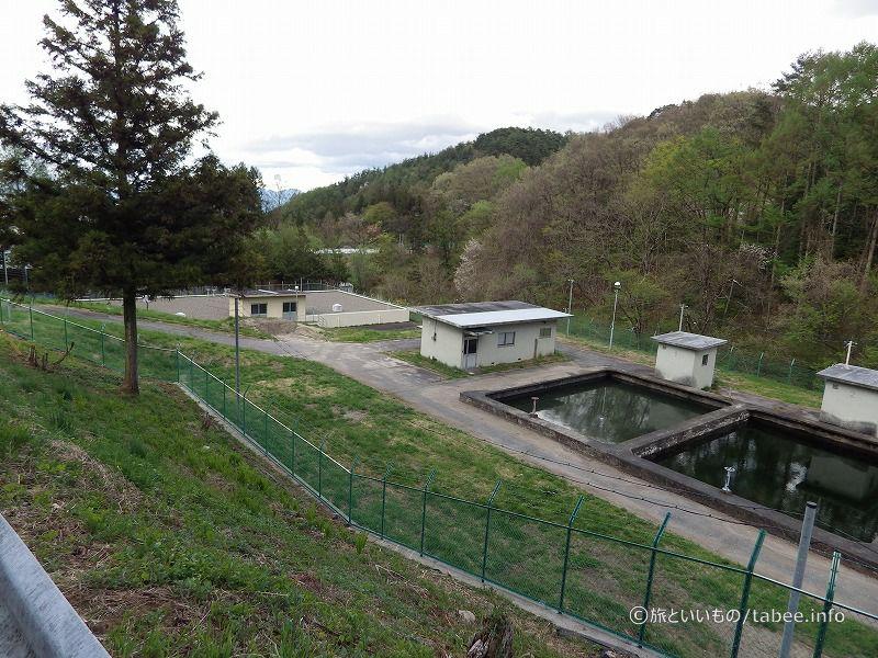 少し下流の浄水場設備2
