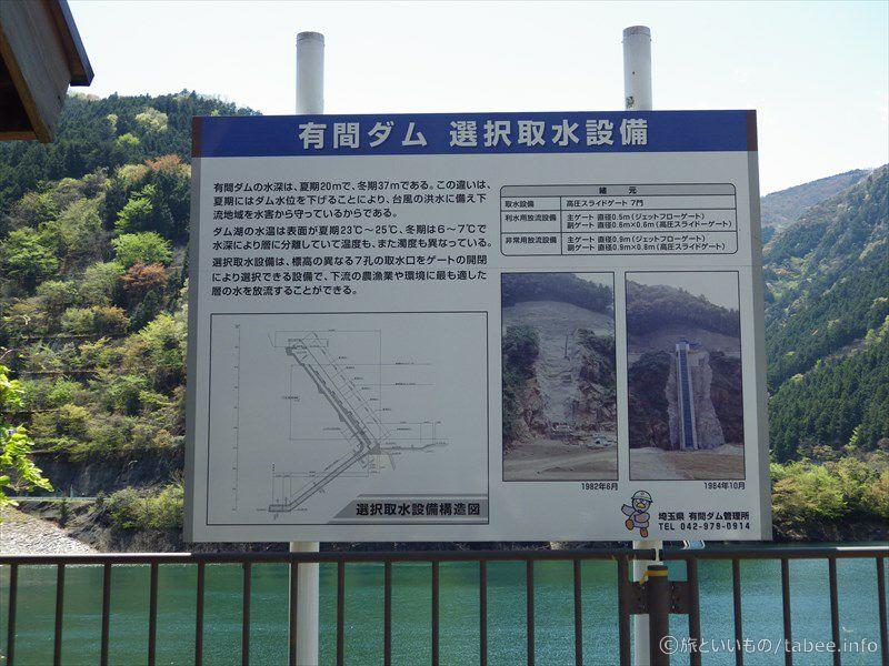 有間ダム 選択取水設備