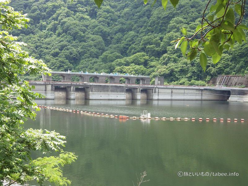 城山ダム上流