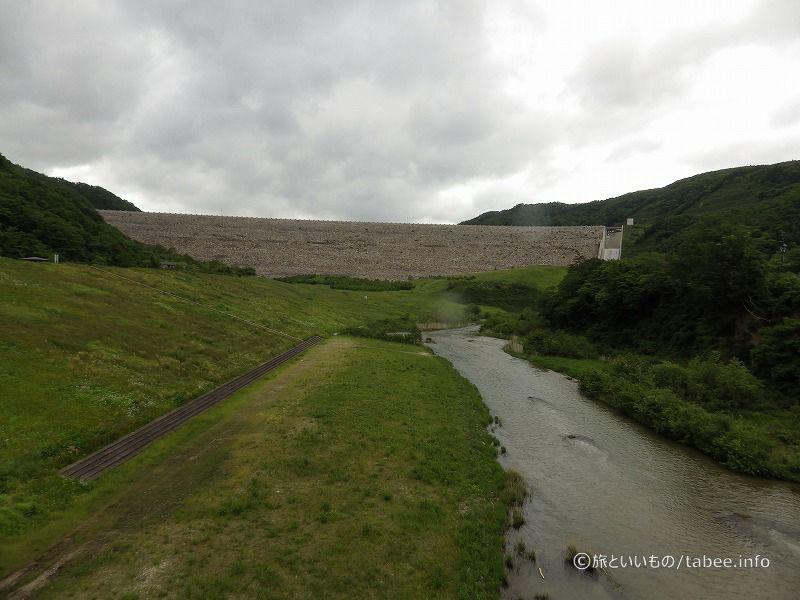 ゆったりした素敵なダムでした