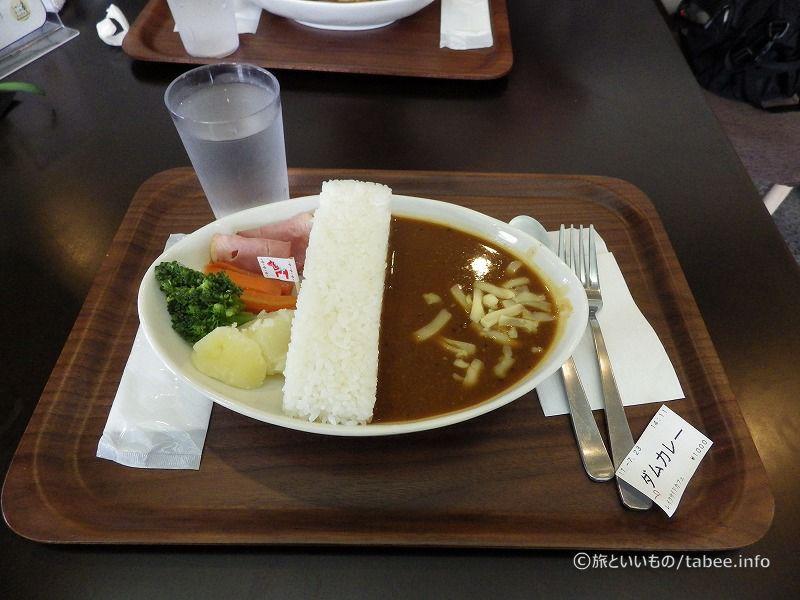 宮ケ瀬ダムカレー1000円