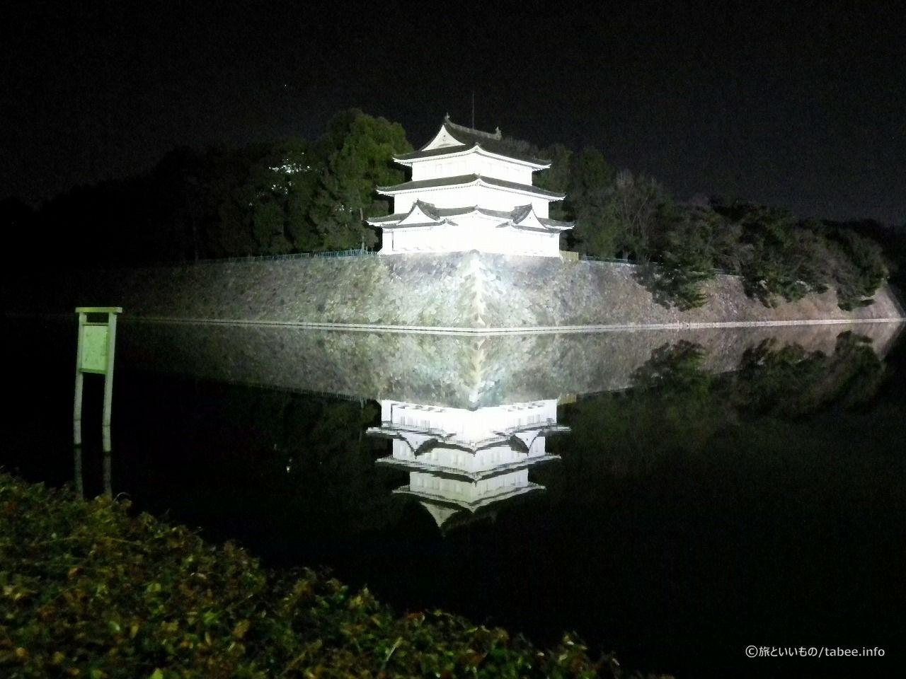 西北隅櫓(重要文化財)