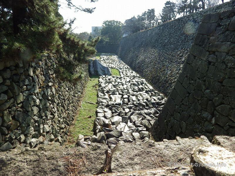 石垣置き場