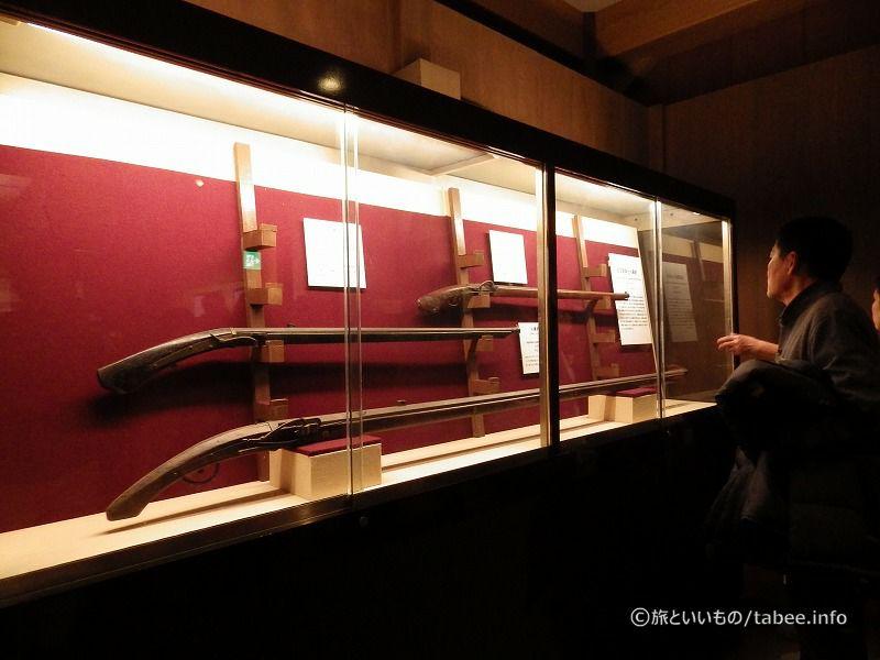 銃身の長い火縄銃