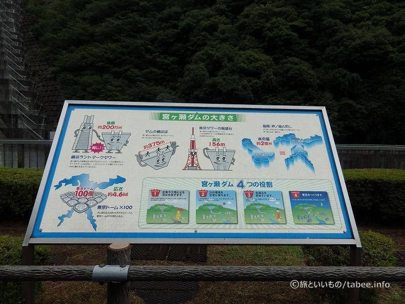 宮ケ瀬ダムは関東でも大きなダムの一つです