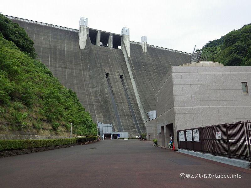 宮ケ瀬ダムと第一発電所