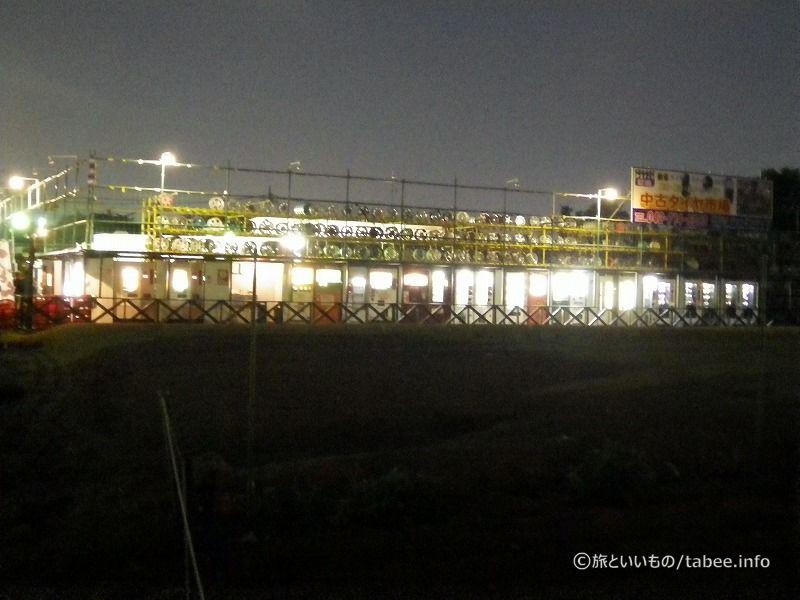 夜の自販機銀座