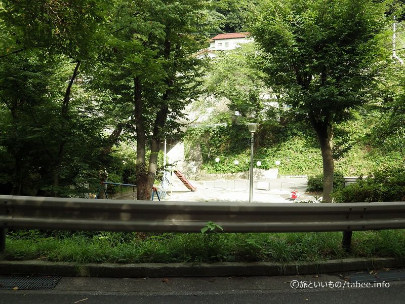 のの字橋の公園