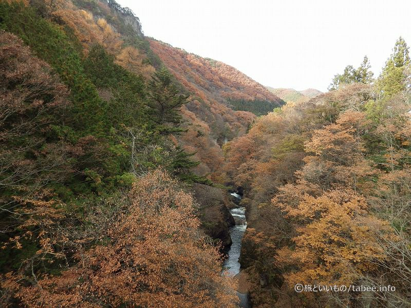 別の観瀑台から見た眺め