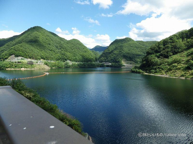 ダム湖はみずがき湖