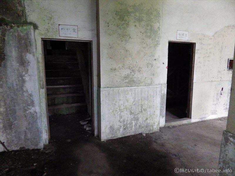 機械室入口