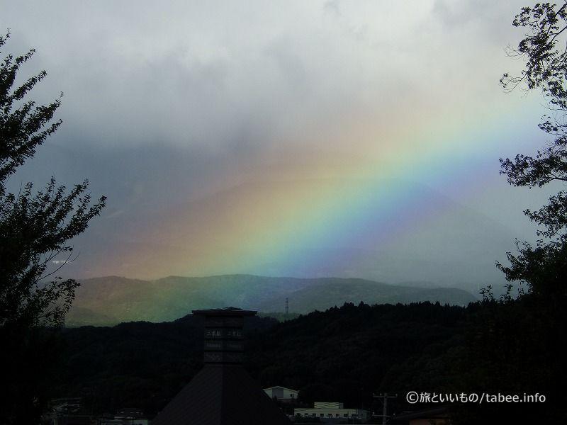 台風一過の朝