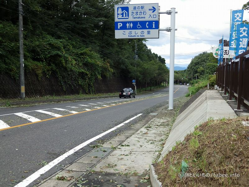 道の駅たまかわ