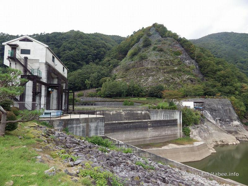 広瀬ダムとダム公園