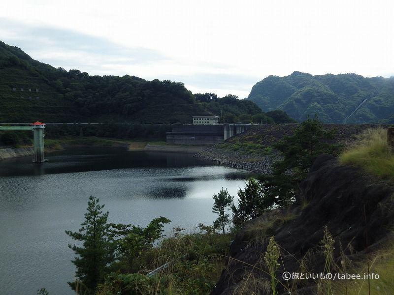 展望台から見た荒川ダム