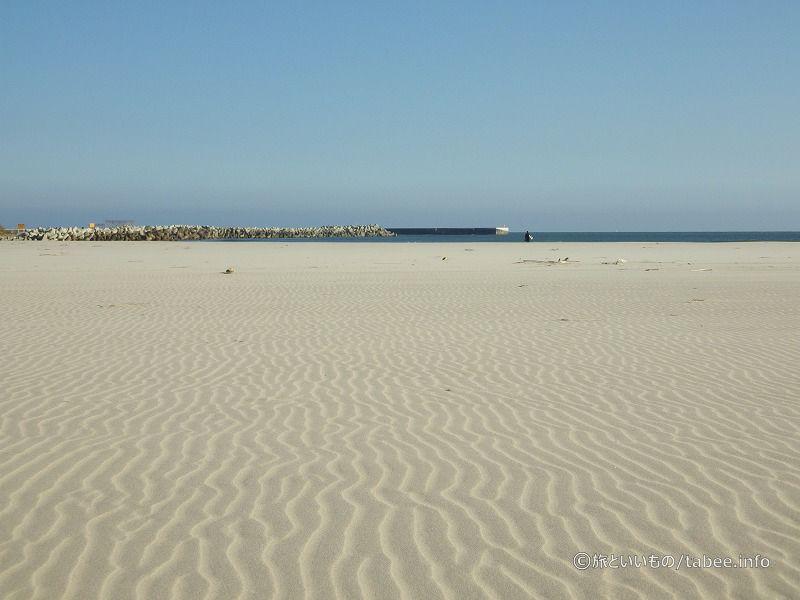 綺麗な砂浜