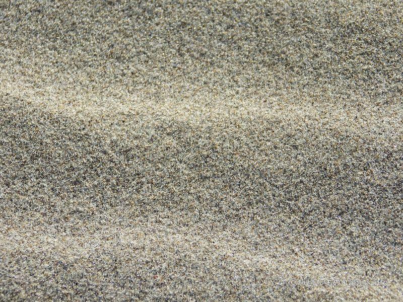 砂のアップ