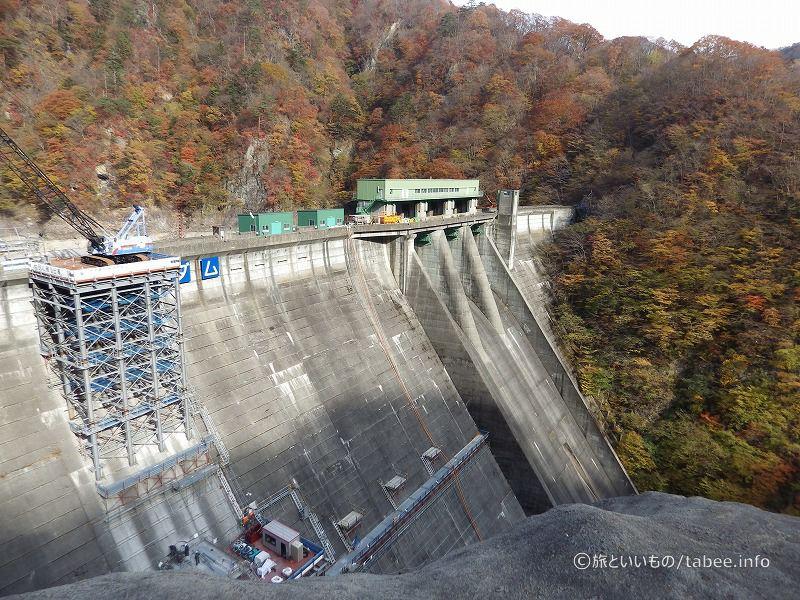 利水放流設備の工事