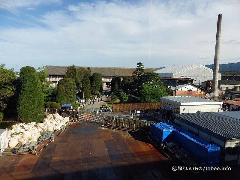 西置繭所側から眺めた富岡製糸場
