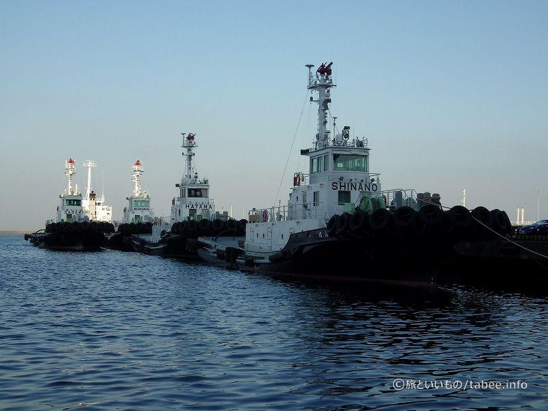 新港第一突堤に接岸していました
