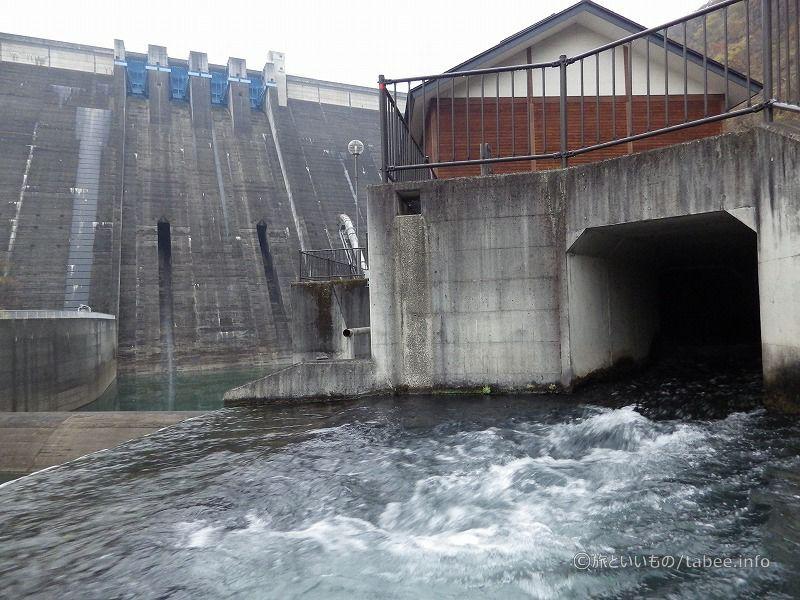 発電所からの放流