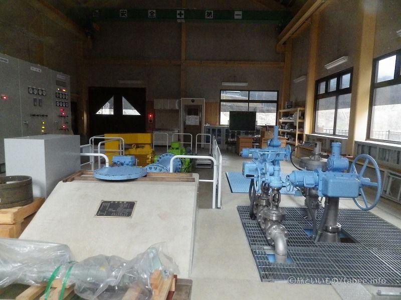 東第二発電所内部