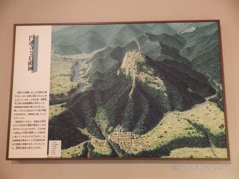 円通寺と岩殿城
