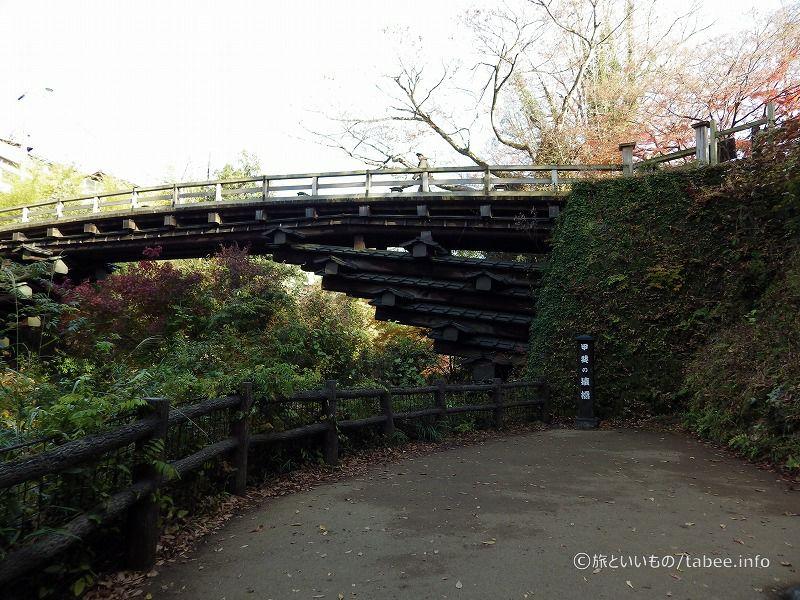 山梨県大月市の猿橋